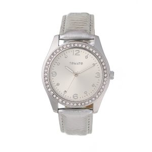 Tomato Paris silver watch